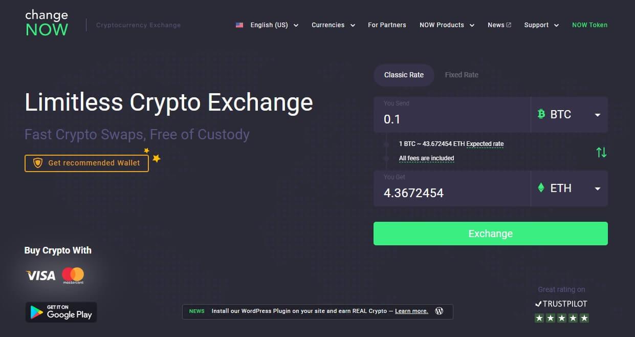 changenow website