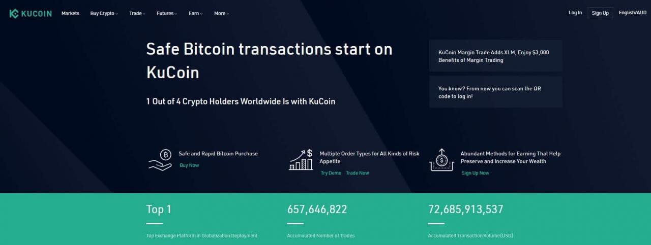kucoin website